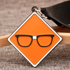Glasses Custom Medals