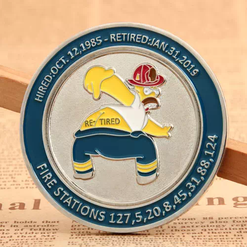 Lacofd Firefighter Challenge Coins