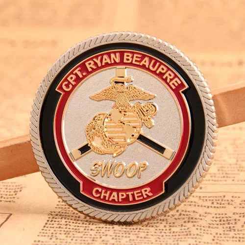 Marine Corps Challenge Coins