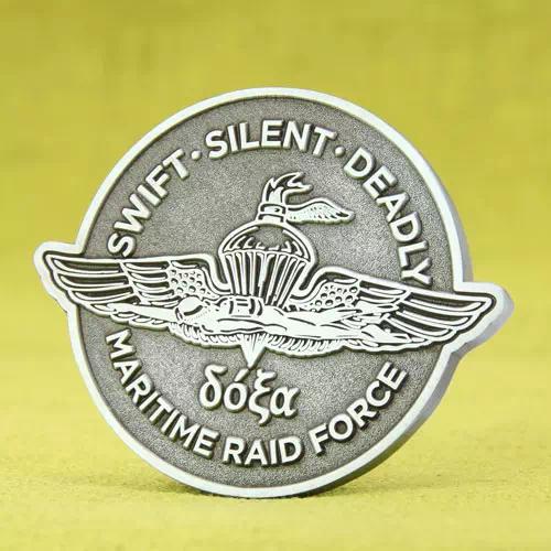 Maritime Raid Force Custom Award Coins