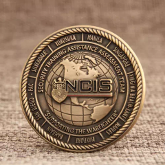 NCIS STAAT Navy Challenge Coins