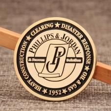 PHILLIPS & JORDAN Custom Challenge Coins