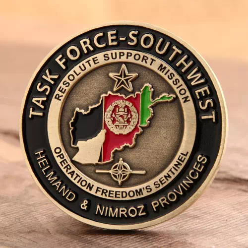 Task Force Southwest Marine Corps Challenge Coins