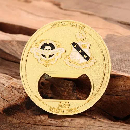University Coins Bottle Opener
