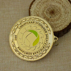Wheat Decoration Custom Gold Medals