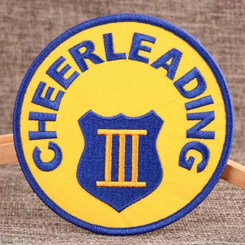 Cheerleading Embroidered Patches