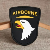 101st Airborne PVC Patches
