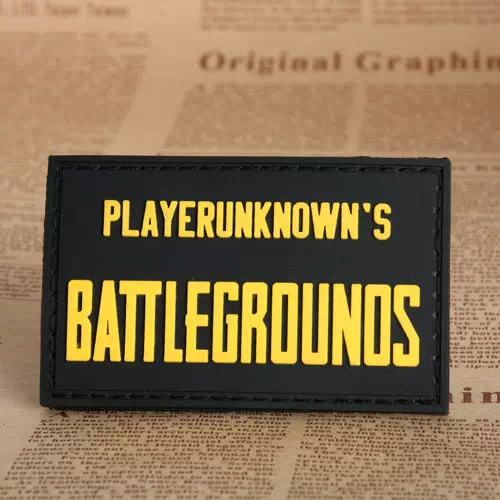 PUBG PVC Patches