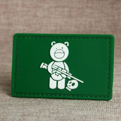 Sniper Bear PVC Patches