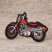 Motorcycle Embroidered Patches