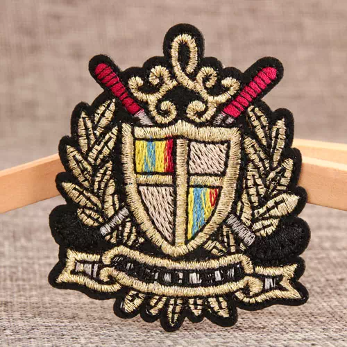 Korea Navy Custom Embroidered Patches
