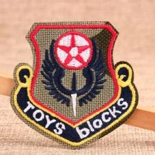 Toys Blocks Custom Patches