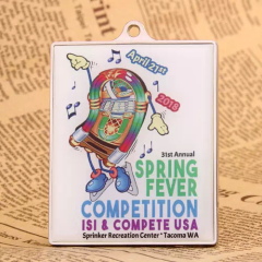 Spring Fever Skating Medals