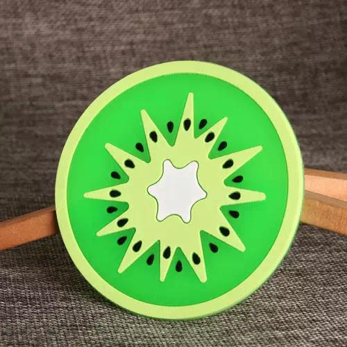 Kiwi Fruit PVC Coaster