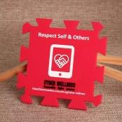 Respect Self PVC Coaster