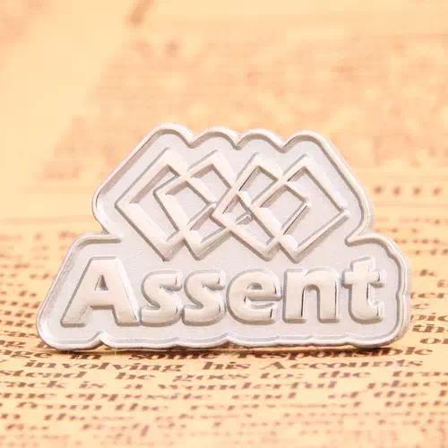 Assent custom pins