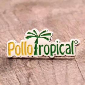 Pollo ropical lapel pins