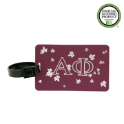 Alpha Phi Ivy Luggage Tags