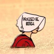 Bitch custom enamel pins